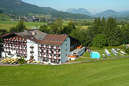 Außenansicht Hotel Blattlhof in Going am Wilden Kaiser